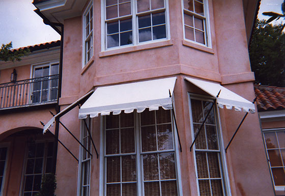 Residential Window Awnings : Boree canvas  residential awnings